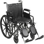 Silver Sport 2 Wheelchair - 18 inches with Options