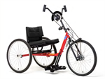 Top End Excelerator Quick Ship Handcycle by Invacare - Red