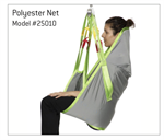 Full Body Sling by Human Care in Polyester Net Fabric