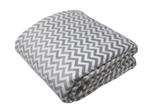 Sensory Good Plush Weighted Blanket - Chevron