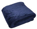 Sensory Good Plush Weighted Blanket - Navy