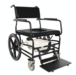 ActiveAid Bariatric Shower/Commode Chair with 20