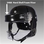 Danmar Hard Shell Safety Helmet - Foam Visor