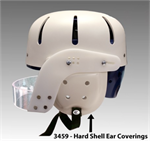 Danmar Hard Shell Safety Helmet - Ear Covers