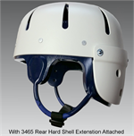 Danmar Hard Shell Safety Helmet - Rear Extension
