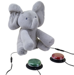 Flappy the Elephant Interactive Toy & 2 Switches