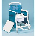Duralife Super Deluxe Padded Commode and Shower Chair