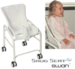 Snug Seat Swan Shower, Bath & Potty Chair