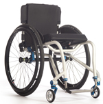 TiLite Aero T Dual-Tube Rigid Aluminum Wheelchair