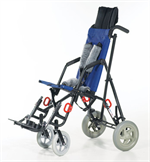 Zippie Mighty Lite in Navy with Transit Option and Headrest