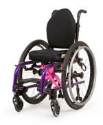 Zippie X'Cape Children's Folding Wheelchair with Seat Cushions