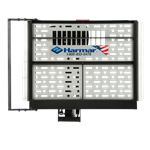 Harmar AL100HD Universal Scooter Lift has expanding platform up to 47