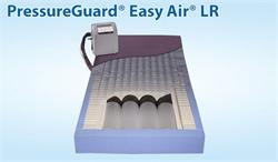 Pressure Guard Easy Air LR Therapy Mattress with low air loss, alternating pressure and lateral rotation therapies for users at risk of skin breakdowns.