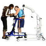 Stander portable patient lift
