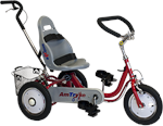 Amtryke ProSeries 1412 Foot Tricycle with Bucket Seat
