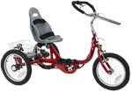 Amtryke ProSeries 1416 Foot Tricycle with Bucket Seat