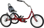 Amtryke ProSeries 1420 Foot Tricycle with Bucket Seat