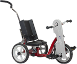 Amtryke AM-10 Hand/Foot Tricycle With Snappy Seat System