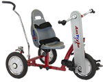 Amtryke 12 Standard Hand/Foot Tricycle with Bucket Seating System