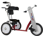 Amtryke AM-16 Hand/Foot Tricycle With 1400 Tractor Seat