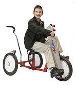 Amtryke AM-16 Hand/Foot Tricycle With 1400 Seating with Rider