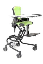 Jenx Junior Seating System in Lime with activity tray