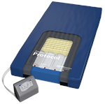 Span America PressureGuard Protocol Therapy Mattress with microclimate managment (LAL) and alternating pressures for high risk users.