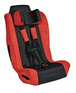 Spirit Adjustable Fit Car Seat Roadster Red