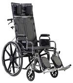 Sentra Reclining Wheelchair with Detachable Desk Arms-std22rbdda