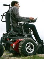 V6 Frontier All-Terrain Wheelchair